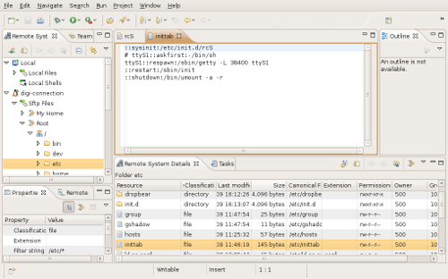 Getting to grips with Eclipse: remote access and debugging | 2net co uk